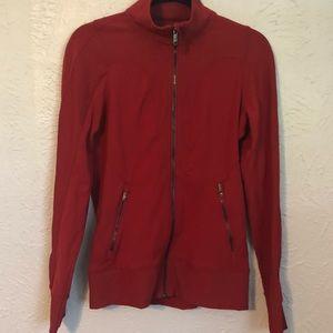 Lululemon fitted zip up jacket   size 8